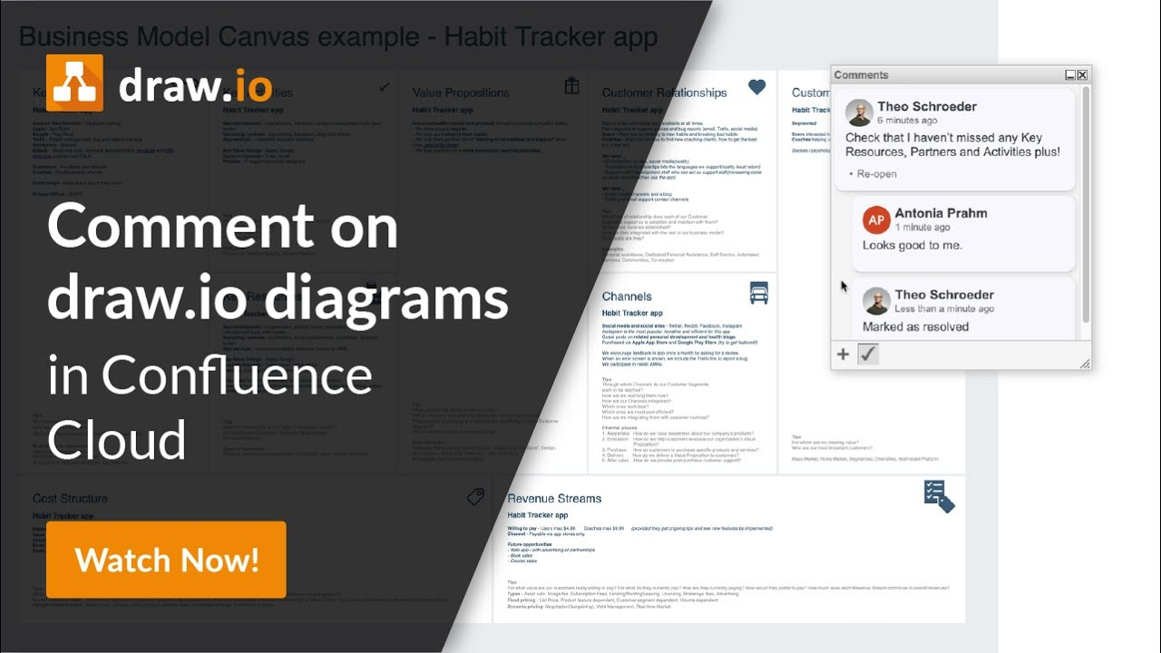 Comment On Draw Io Diagrams In Confluence Cloud Youtube