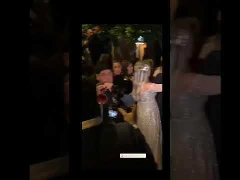 حفل زفاف ابن شقيق نجوى كرم