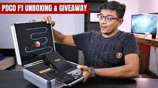 Xiaomi POCO Phone F1 Unboxing & GIVEAWAY - PhoneRadar