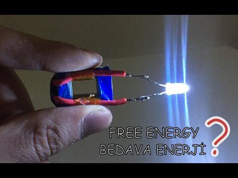 how to make free energy light bulb