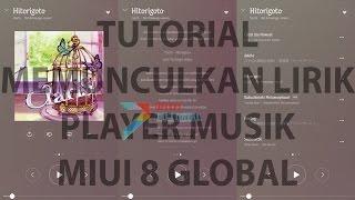Cara Menambahkan Lirik Berjalan di Player Musik Bawaan Xiaomi Miui 8 Supaya Semakin Asyik