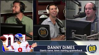 Mraz says he can finally focus on his baby because the Giants benched Eli I D.A. on CBS