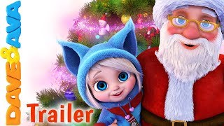 🎅🏻  SANTA - Trailer | Christmas Songs for Kids and Nursery Rhymes from Dave and Ava 🎅🏻