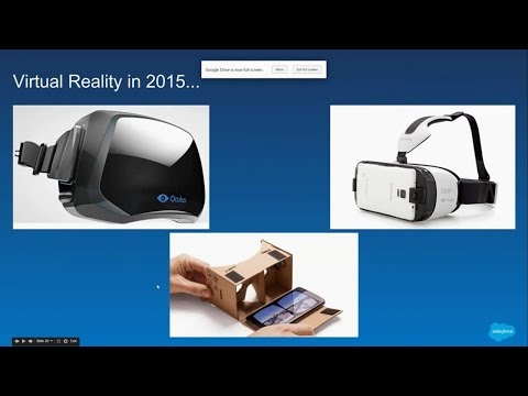 How to use Oculus Rift and Virtual Reality to Visualize Data on Salesforce