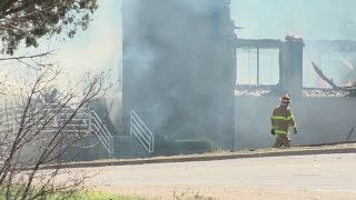Business burns down after SWAT situation in East Mountains