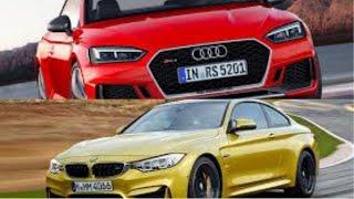 2017 audi rs5 coupe vs bmw m4 x drive 2017