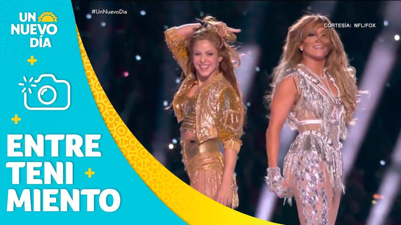 Download Shakira y Jennifer Lopez: lo mejor del Super Bowl 2020   Un Nuevo Día   Telemundo