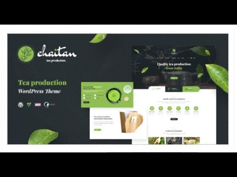 Chaitan - Tea Production Company and Tea Store WordPress Theme | Themeforest Templates