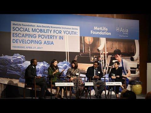 Social Mobility for Youth: Escaping Poverty in Developing Asia
