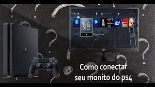 TUTORIAL: Como conectar seu monitor do pc do ps4 sem erro!! (HDMI)