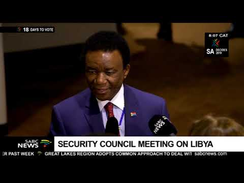 Security Council meeting on Libya