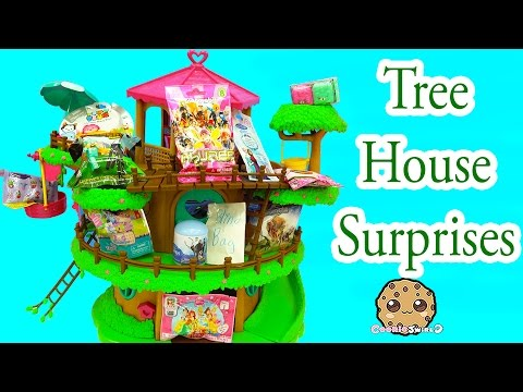 Surprise Toy Blind Bag Treehouse With Shopkins, Disney Frozen, Littlest Pet Shop, Tsum Tsum + More