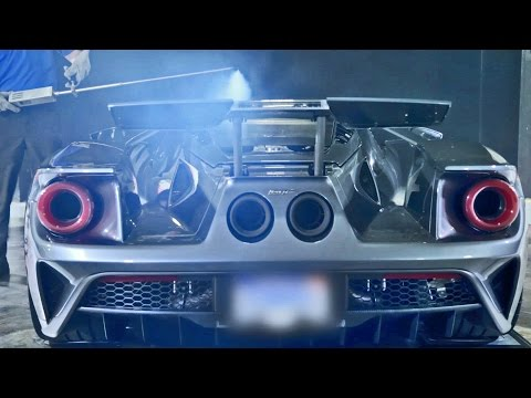 2017 Ford GT Wind Tunnel Testing