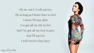 Download Demi Lovato - I Will Survive (Lyrics)