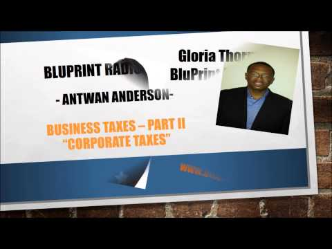 Business Taxes Part II For Corporations