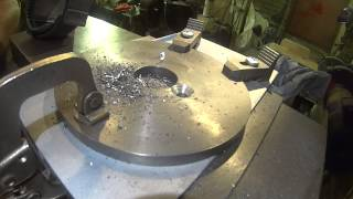 ELLIS DIVIDING HEAD Home made index plate part 3