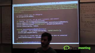 AnyMeeting WebRTC Hackathon - Jon Mumm, TokBox