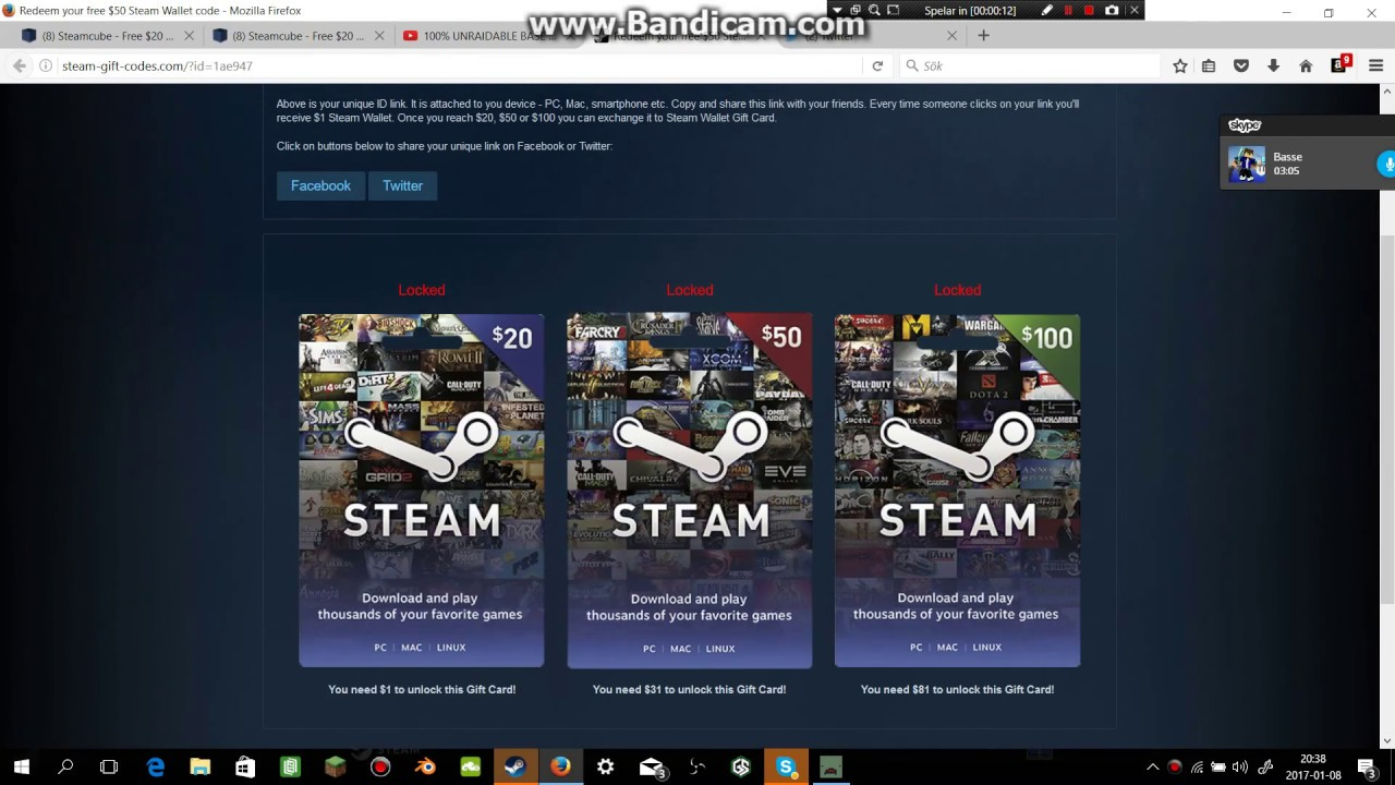 earn steam wallet codes online