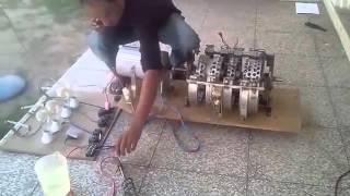 Moteur magnétique de Wasif Kahlonn