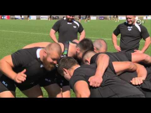Ospreys TV in Belgium: In training...