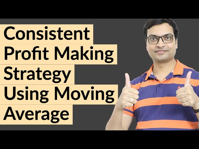 Consistent Profit Making Strategy Using Moving Averages.