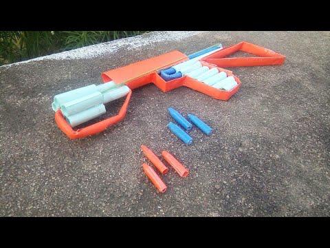 How to make a paper revolver machine gun | paper gun | VM art galaxy