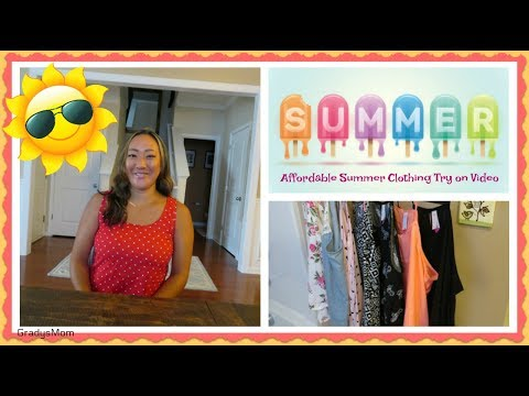 Affordable Walmart + Target Clothing Haul + Try on | Under $5, $10, & $25