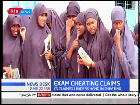 Wajir leaders slum CS Magoha over his remarks on North Eastern exam cheating