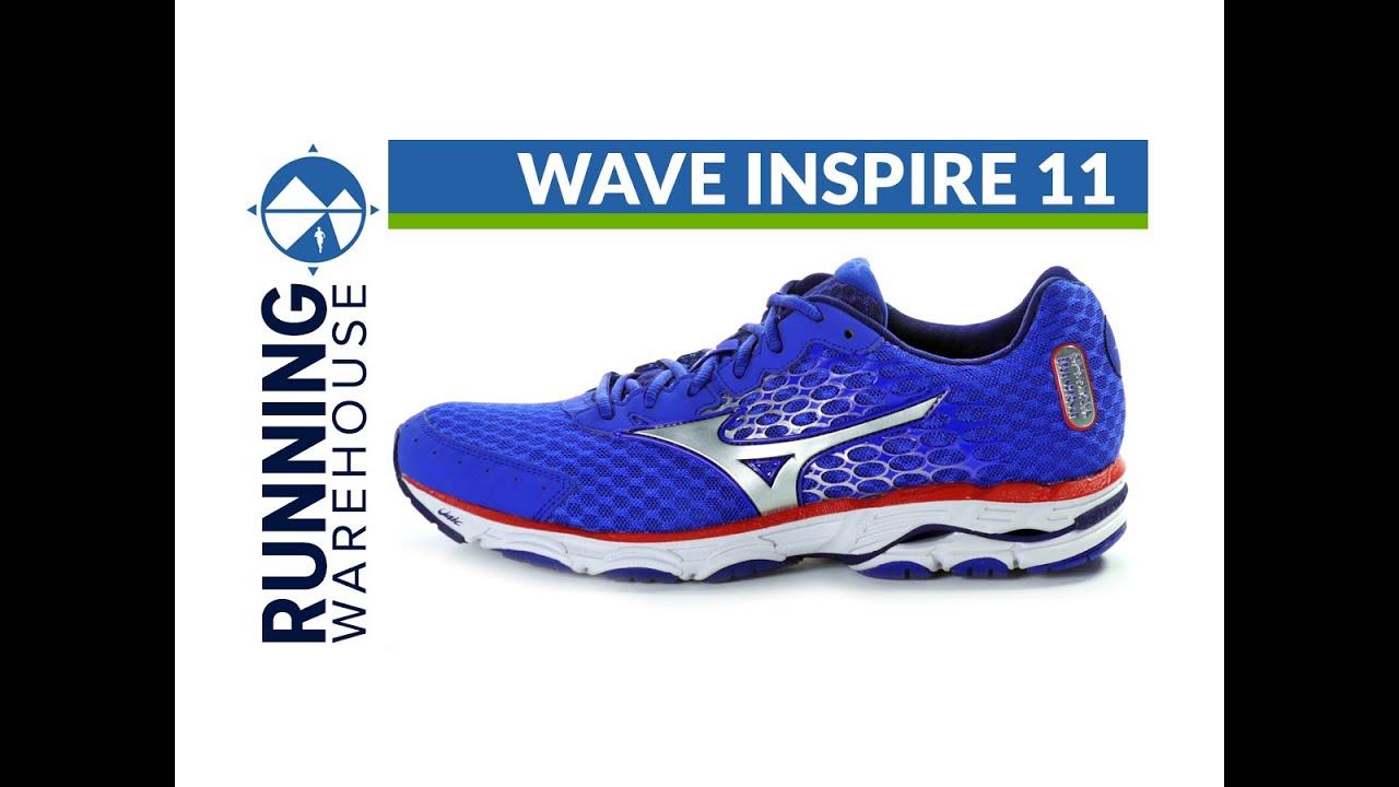 9412a6dcb1fc Mizuno Wave Inspire 11 for men. Running Warehouse