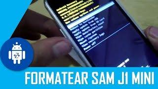 Formatear Samsung Galaxy J1 Mini Prime