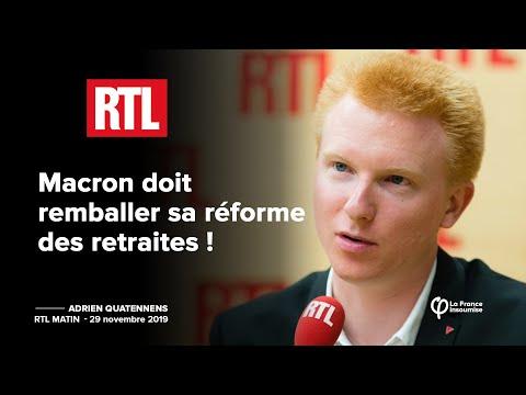 Macron doit remballer sa réforme des retraites !   Adrien Quatennens