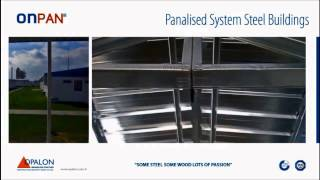 OPALON préfabriqués Container acier structure modulaire bâtiment ONPAN