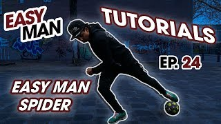 Learn how to do the SPIDER - Street Football Skill - Easy Man Tutorials Ep 24