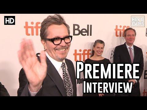 Gary Oldman | Darkest Hour Premiere Interview | TIFF17