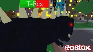 Dinosaur Hunter 🦖 Escaping From T-Rex Dinosaur! (Roblox Dinosaur Hunter)