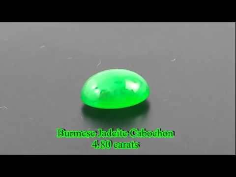 IYB0027 - Burmese Jadeite Cabochon 4.80 carats @JTCB2B.COM