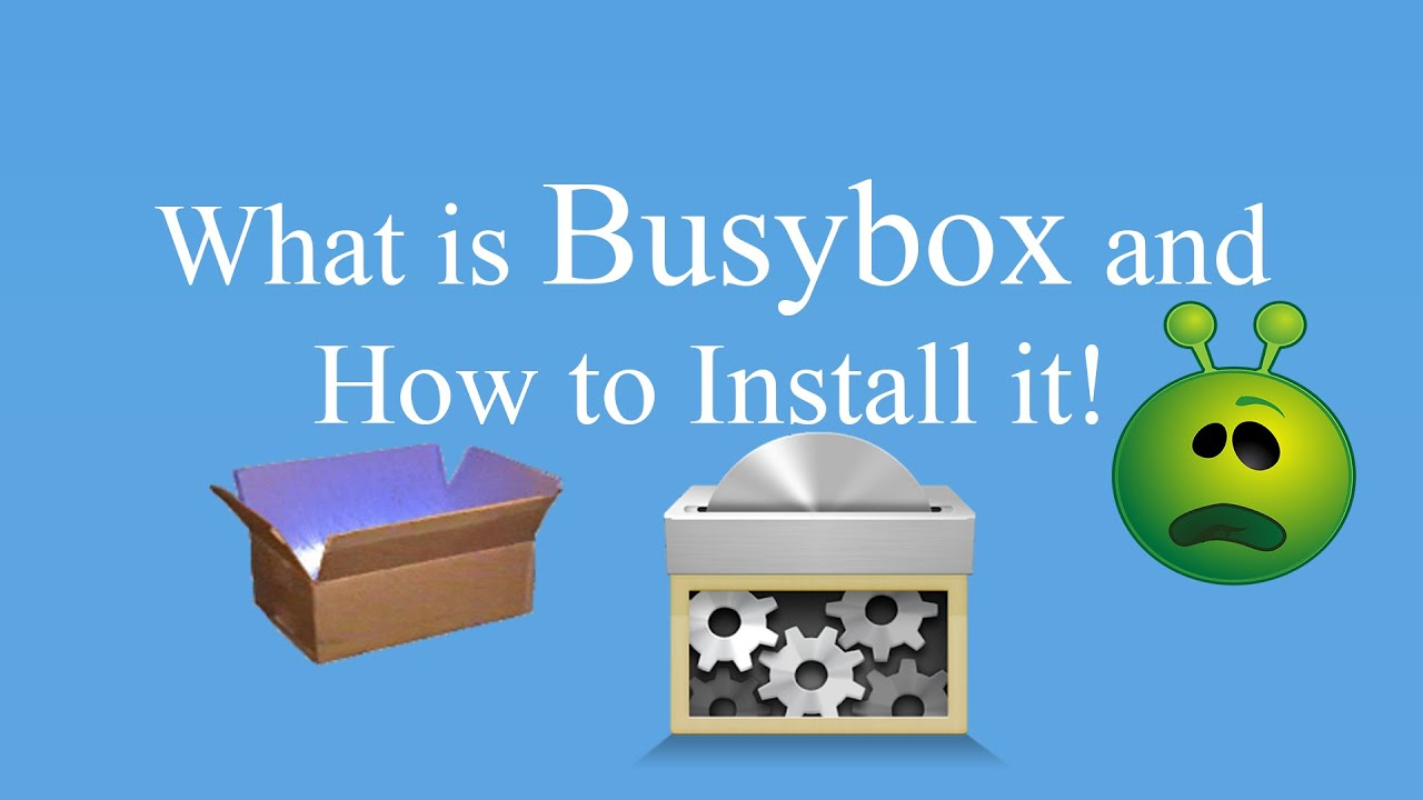 how to install busybox
