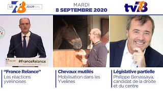 7/8 Le Journal. Edition du 8 septembre 2020