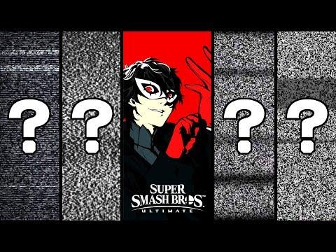 SMASH BROS ULTIMATE - Joker y los 4 DLC ¿Quiénes son? thumbnail
