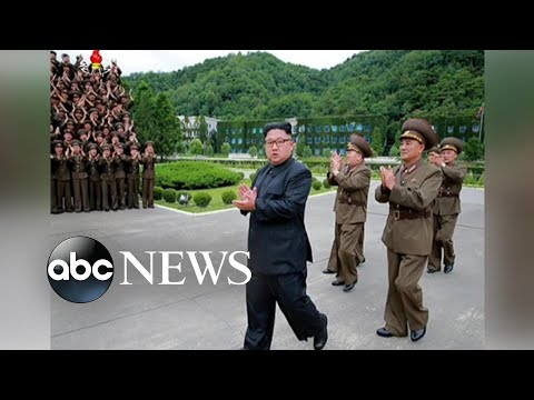 Kim Jong Un briefed on possible Guam missile attacks