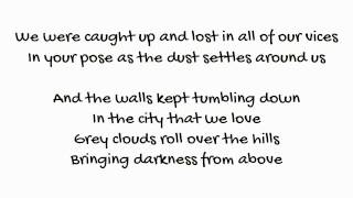 Pompeii - Bastille if you close your eyes lyrics