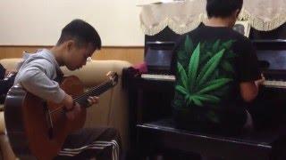Cao Hơn Vì Sao - Lê Cát Trọng Lý - Guitar Ngọc Duy hehe - Pianist Lê Gia Dương Hoàng