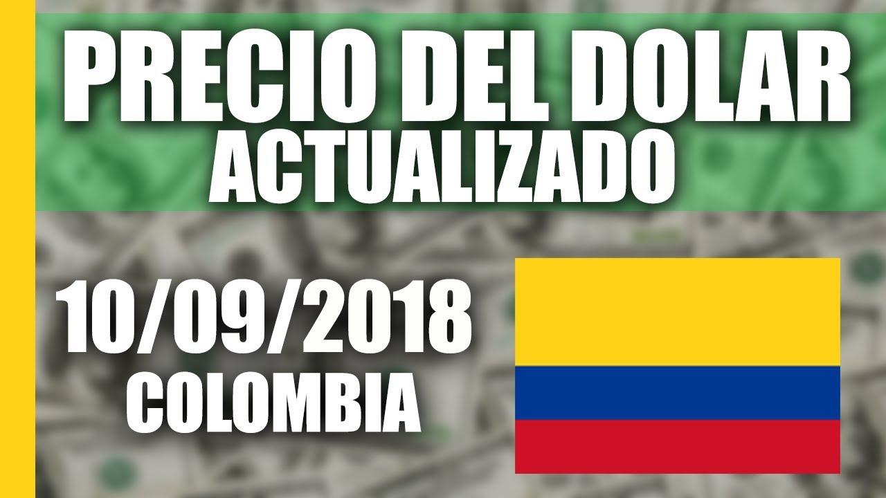 Precio Del Dolar Hoy En Colombia Lunes 10 Septiembre 2018 Actualizado