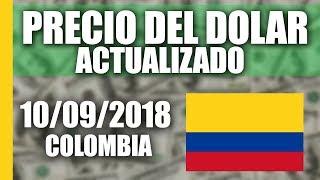 Precio del Dolar hoy en Colombia Hoy Lunes 10 Septiembre del 2018 (ACTUALIZADO)