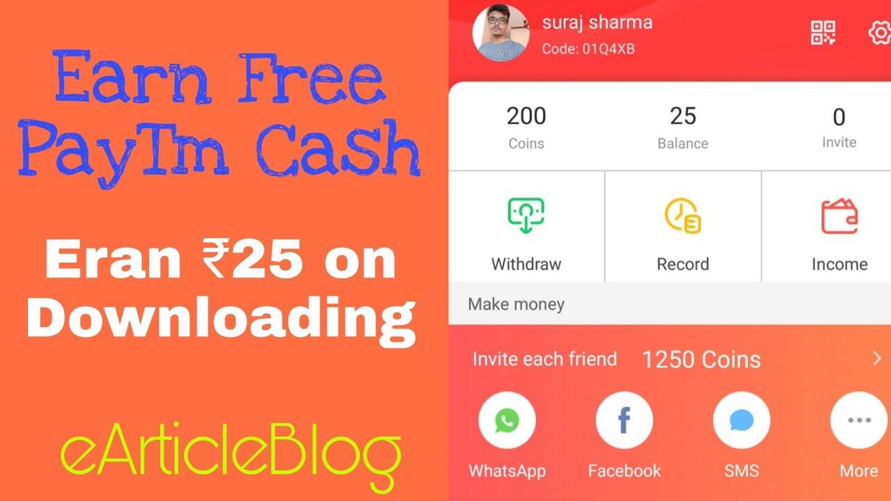 Rozdhan App Invite / Refer Code 2019 (Paytm Cash on Apk