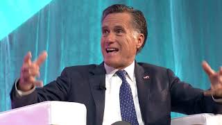 Mitt Romney at Silicon Slopes Tech Summit 2018