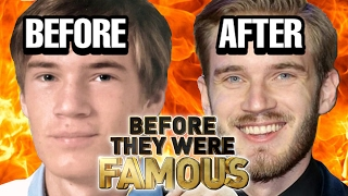 PEWDIEPIE - Before They Were Famous - UPDATED ... AGAIN