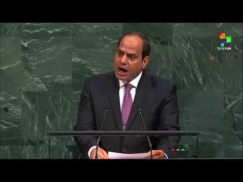 UN Speeches: Egyptian President Abdel Fatah el-Sisi
