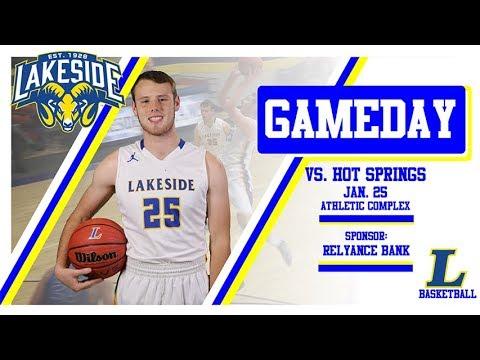 Lakeside Rams Basketball vs Hot Springs   January 25th, 2019