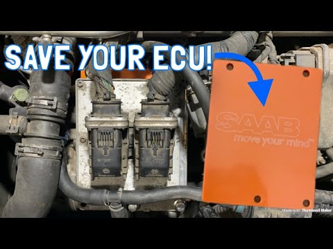 How to Save Your Saab 9-3's ECU! (T8 ECU Spacer Kit Install)